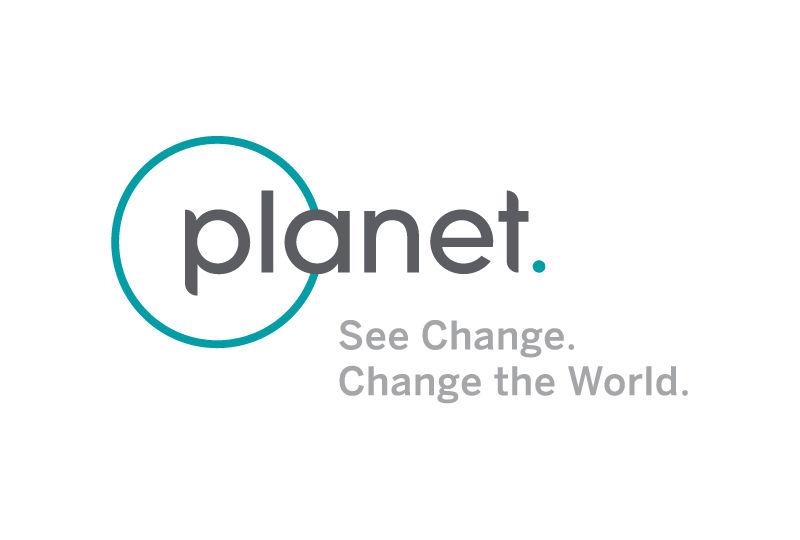 planet see change change the world horizontal logo grey