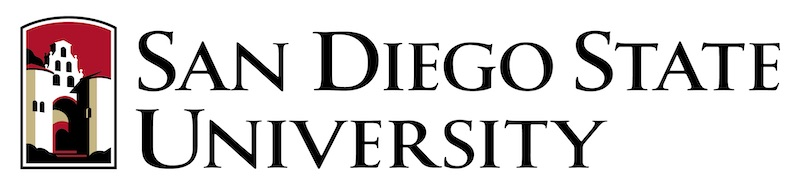 sand diego state university sdsu logo horizontal
