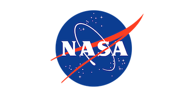 NASA logo satellite imagery